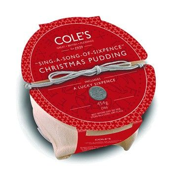 Sing a song of sixpence pudding