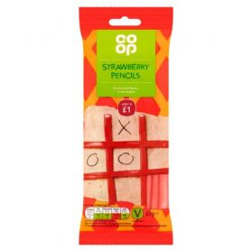 Co-op Strawberry Pencils
