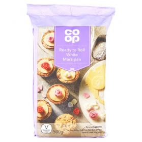 Co Op Ready to Roll White Marzipan 500g