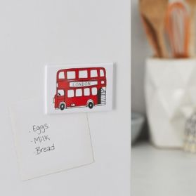 London Bus Fridge Magnet