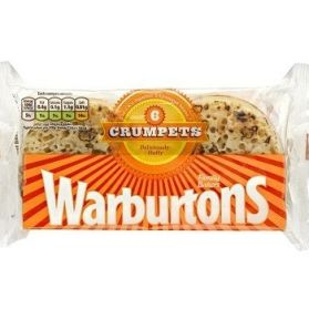 Warburtons Crumpets Six Pack