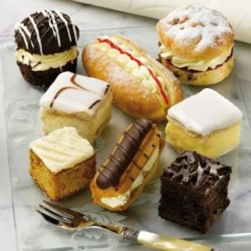 British Cakes selection