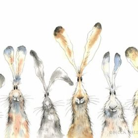 Six Hares by Becca Fielding