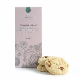 Strawberry & White chocolate Biscuits