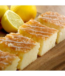 Lemon Drizzle Slices