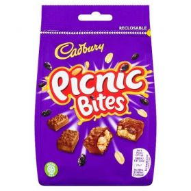 You don't have to be on a sunny outdoor adventure to enjoy these Cadbury Picnic Bites, though you may want to after one nibble!