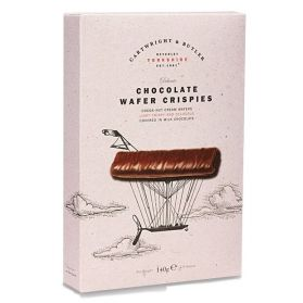 Chocolate Wafer Crispies are that perfect light afternoon snack!
