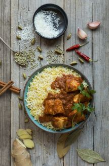Coconut Chicken Curry - A wonderful gluten free curry made with coconut milk and marinated chicken - one of our favourites!