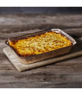 Cottage Pie now in a huge two-pounder made with our locally sourced pasture reared beef - a British classic!