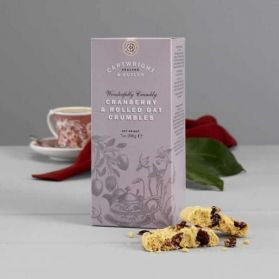 Cranberry Crumbles - Adding Cranberries to Cartwright & Butler's Oat Crumbles biscuits have worked a treat!