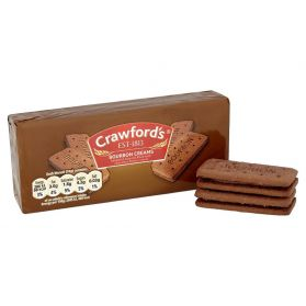 Crawford's Bourbon Creams are a British standard, one of the older generation when it comes to the inhabitants of the biscuit tin. They are a reassuring sight when you crack open the tin for a spot of biscuit related indulgence.