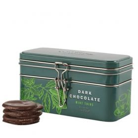 Mint Chocolate Thins Treasure Chest - Cartwright & Butler