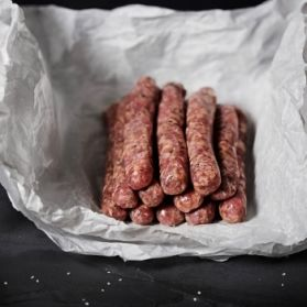 12 English Chipolata Sausages weighing 1lb