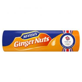 McVities Ginger Nuts are a true classic in the world of biscuits.