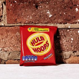 Hula Hoops - Original ready salted Hula Hoops are one of the greatest crisps of all time and the most fun to eat!
