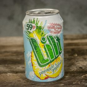 Lilt - A tropical grapefruit and pineapple mix. Exotic!
