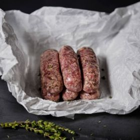 Gluten Free Lincolnshire Sausages