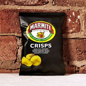 Walker's Marmite Crisps -Either you love them or hate them! Marmite flavoured Walkers are dividing households!