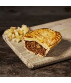 Meat & Potato pie is a true northern classic made with the finest ingredients!