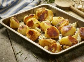 Roasting Potatoes in their skins for extra goodness!