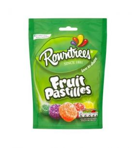 Fruit Pastilles - Chewy and coated in sugar - a British classic!