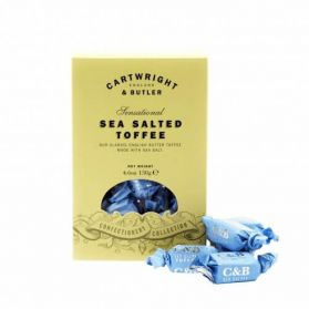Sea Salted Toffee - A new alternative to the traditional road trip toffees!