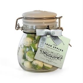 Sour Apple Sweets - Hard-boiled sweets perfect for those long road trips with a sweet and sour pleasant flavour.