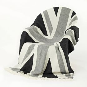 Rule Brittania......The British are coming, whether you own a British car, you're an ex pat, or you simply love Britain then this throw is for you. British Made, British Quality, British Design. and 100% Super-soft Luxurious Merino Wool.