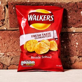 Ready Salted Crisps -An understated crisp classic made with 100% British potatoes.