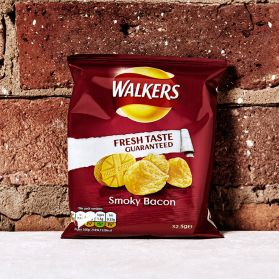 Walker's Smoky Bacon Crisps - A perfect alternative to the more obvious crisp flavours.