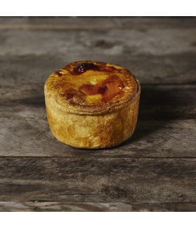 Yorkshire Pork Pie - Our larger version of the classic pork pie. One of the first pies the Parkers made, which Damian calls 'the Yorkshire pork pie from the very beginning.'